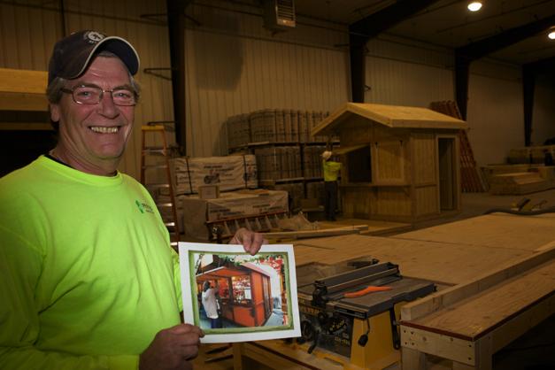 Pepper Construction Vice President of Equipment Bob Bollman - Photographed by Julie Linnekin
