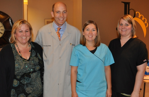 Dr. Baird and his staff look forward to serving your family's podiatric needs
