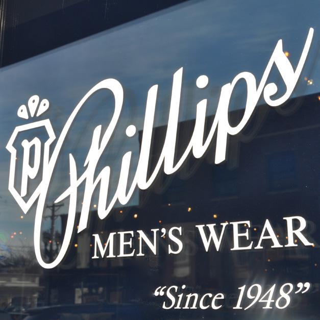 Phillips Men's Wear - 100 E. Station Street in Barrington, IL