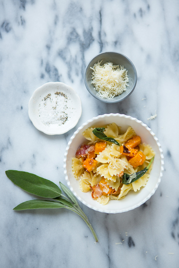 "Kristin Smith's ""Family Fall Pasta"" - Photographed by Sally Roeckell"