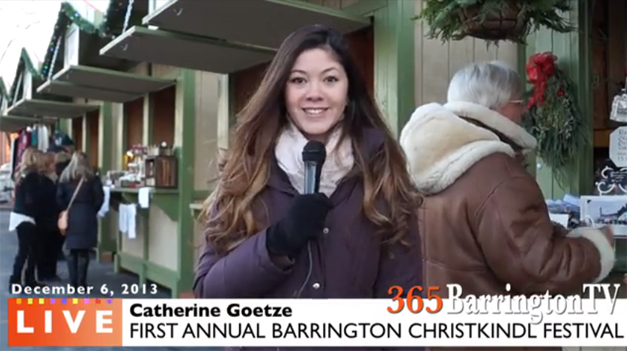 Catherine Goetze Reports from Barrington ChristKindlFest 2013