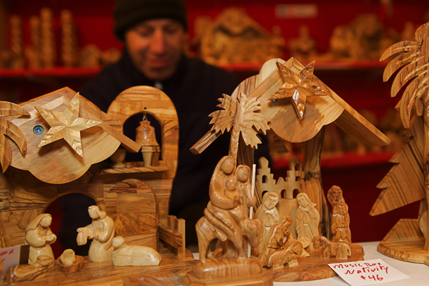 Shopping at Barrington ChristKindlFest - Photographed by Julie Linnekin