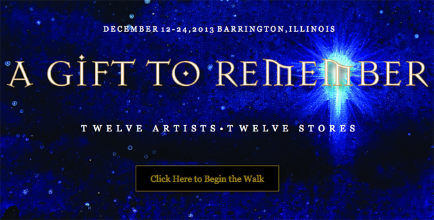 Enjoy the artists' work at 12 Barrington locations through December 24th, 2013