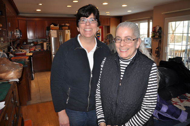 Sisters Lindsay Campe and Heather McLean Prepare for Community Church of Barrington's Annual Cookie Walk
