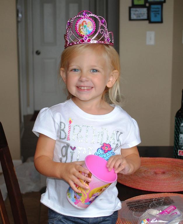 Payton Felde Celebrates her 3rd Birthday