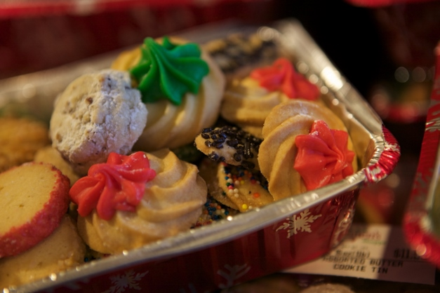 An assortment of holiday cookies from Servatii's Bakery - Photographed by Julie Linnekin