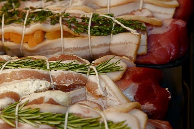 Pork tenderloin, prepared two ways - Photographed by Julie Linnekin