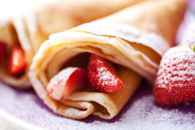 "John Julian's ""Roll-Up Pancakes"""