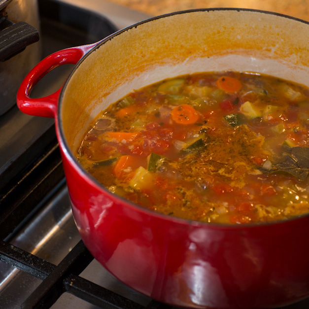 Post - Nana's Minestrone Soup - 3 - Square