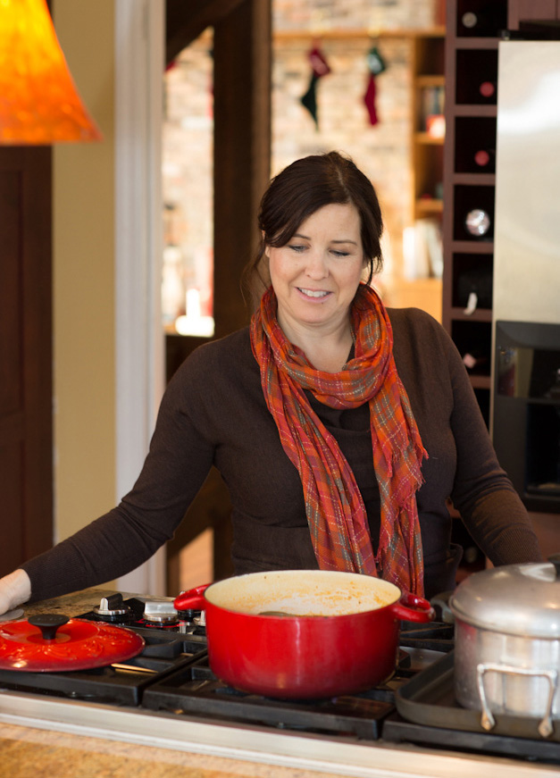 Barrington Family Recipes Contest First Place Winner, Paula Voska - Photographed by Sally Roeckell