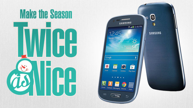 Purchase the Samsung Galaxy S III mini & GEt a Galaxy S III mini FREE