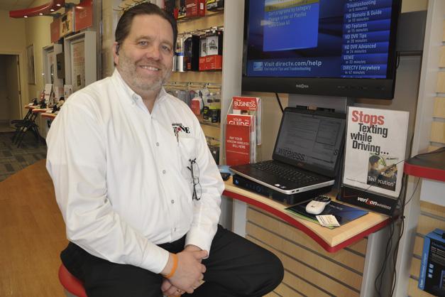 Michael Drelicharz, President of Verizon Wireless in Barrington