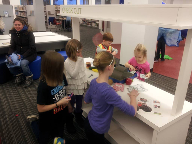 New Youth Services Department at the Barrington Area Library - Courtesy of Facebook.com/BALibrary