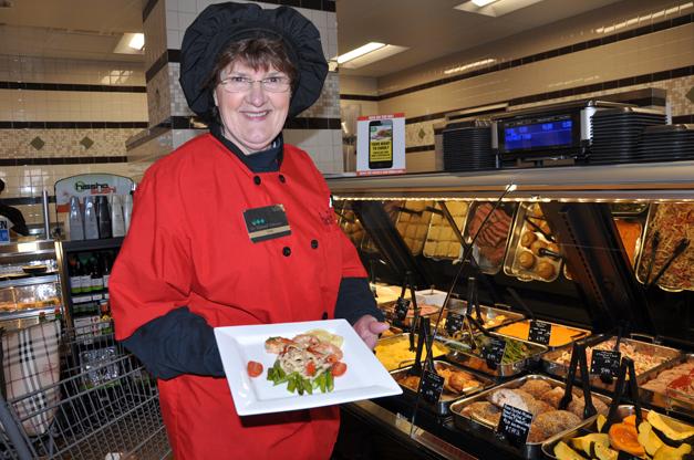 Carol in Heinen's Prepared Foods Department