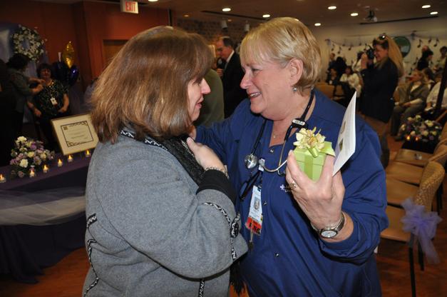Good Shepherd Patient Kitty Ferrantella Reunites with Nurse, Terri Grossman