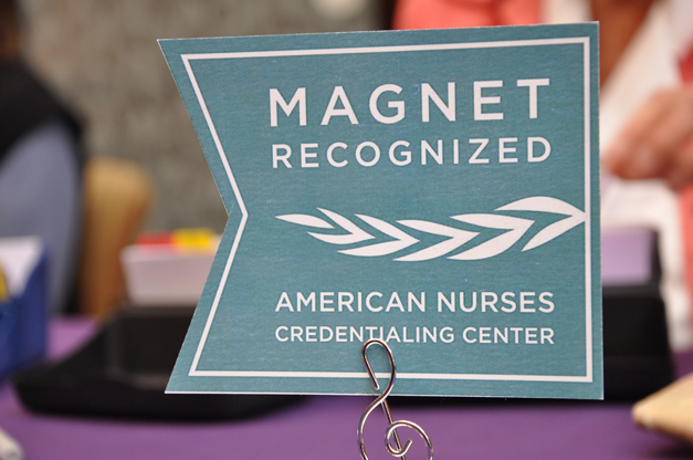 Magnet Pinning Ceremony at Advocate Good Shepherd Hospital