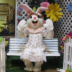 Marketplace - Ice House Mall Easter Bunny