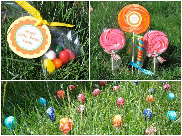 Post - Easter Lollipop Garden