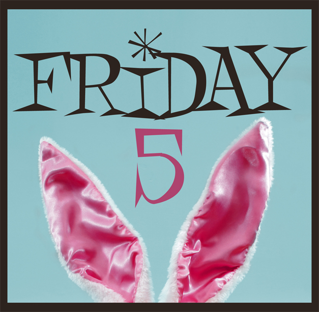"The ""Friday 5"" at 365Barrington.com"