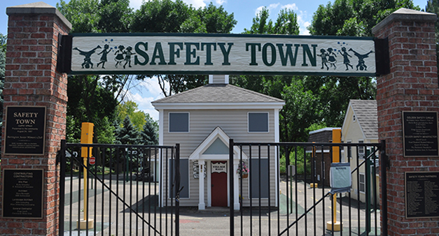 Safety Town with the Barrington Junior Womens Club in Barrington, Illinois