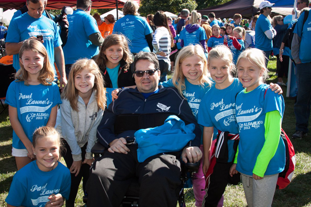 "Paul Launer's ""Iron Horse Brigade"" in the 2013 ALS Walk for Life - Photos Courtesy of Shannon Ramsdale & Bob Lee"