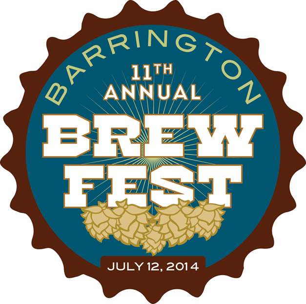 Barrington Brew Fest from 3 to 7 p.m. on Saturday, July 12, 2014