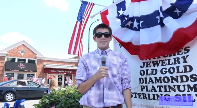 James Owen Reports from the 2014 Barrington 4th of July Parade