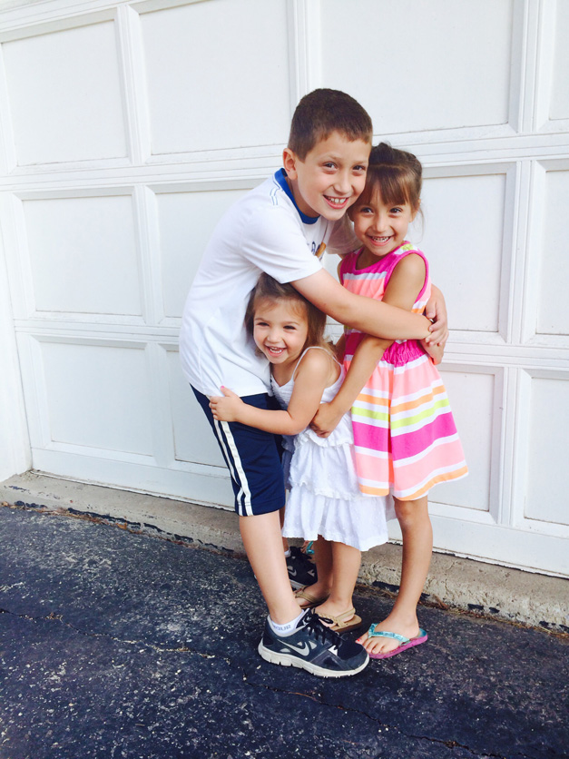 Back to School with the Tomczaks - Submitted by mom, Stacey Tomczak