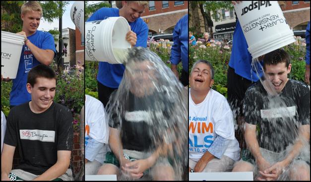 James Owen Takes Barrington's Ice Bucket Challenge on Behalf of 365Barrington.com