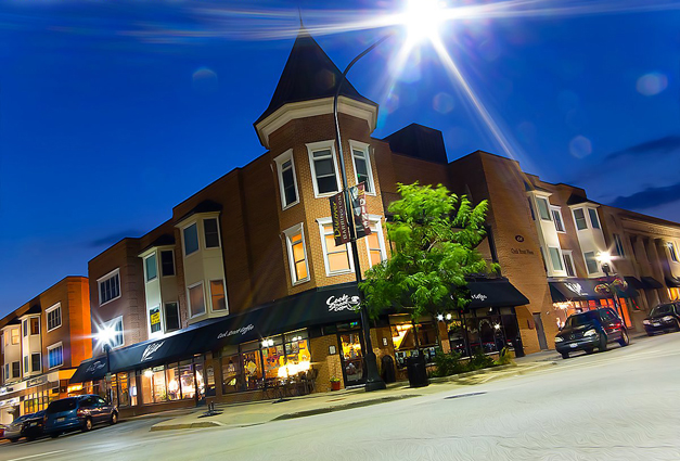 Cook Street Coffee in Barrington - Photographed by Anthony Tortoriello