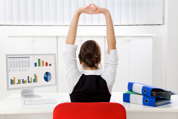 Health Beat: 3 Simple Stretches To Do at Your Desk