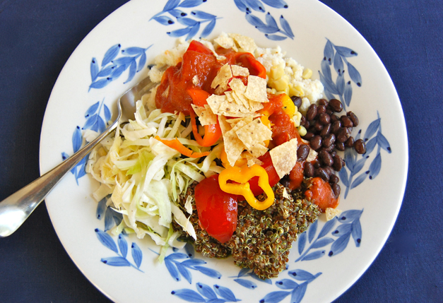 Mexican Veggie Bowl by Mama Jess