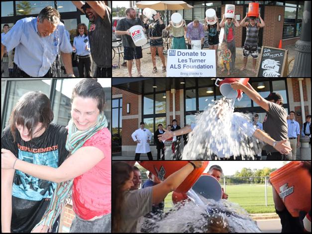 Heinen's Grocery, Cook Street Coffee & BHS-TV Take the Ice Bucket Challenge