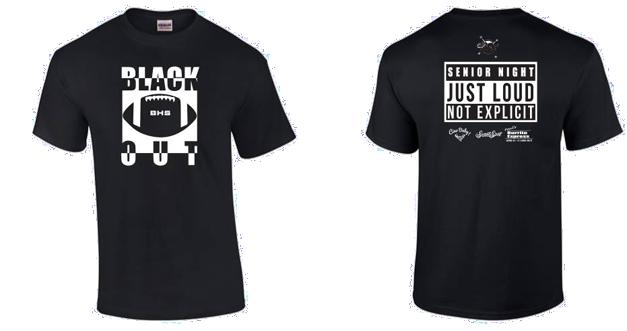 Senior Night Blackout T-Shirt Sales Will Support Go Beyond Barrington