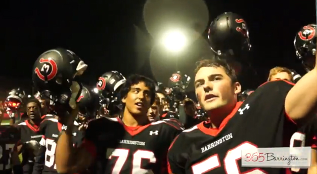 Game of the Week: Barrington Bronco Fans Confident after Team's First Season Loss to Palatine Pirates