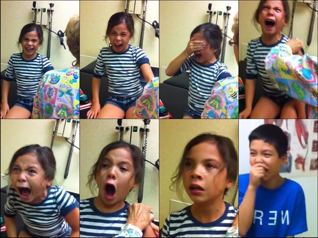 """Michaela's Flu Shot"" Video Goes Viral"