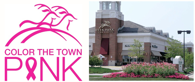 Color the Town Pink at Deer Park Town Center on Saturday, October 11th, 2014