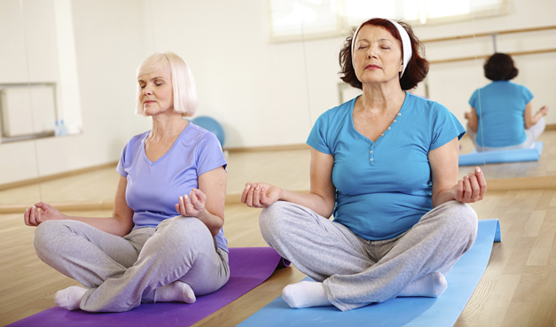Healing Yoga for Cancer Survivors at Advocate Health and Fitness Center in Barrington