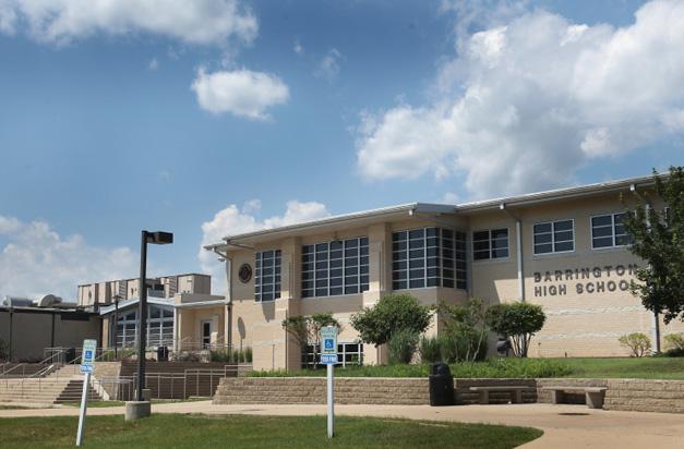 Barrington HIgh School - 616 W. Main Street in Barrington, Illinois