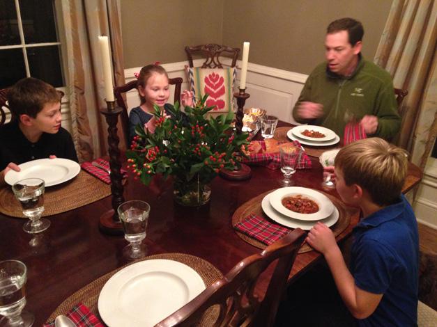 Heinen's Sunday Supper - Hoffman Family Chili Feast
