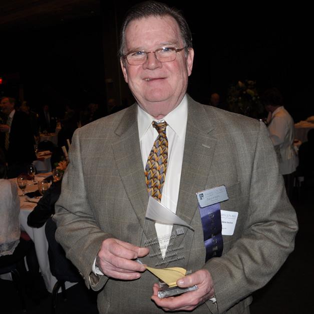 Barrington Area Chamber of Commerce 2015 Award Winner, Dennis Kelly of FGMK Insurance Agency.