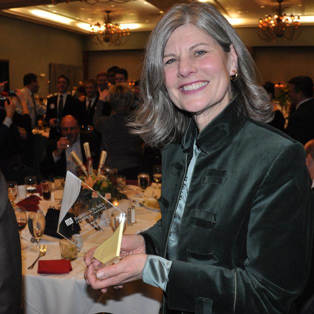 Barrington Area Chamber of Commerce 2015 Business Award Winner, Deborah Leydig of Nortons U.S.A.