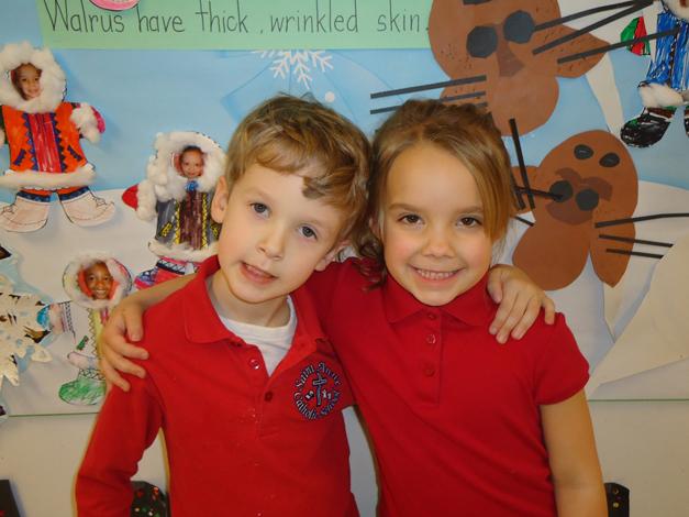 Saint Anne Parish School Kindergarteners