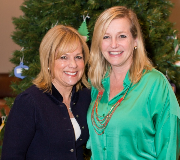 Fourth grade teacher Sharon Curran with Principal Dawn Kapka - Photographed by Sally Roeckell