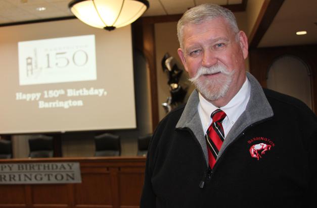 Sesquicentennial Committee Co-Chair and Lifelong Barrington resident, Tim Dunn