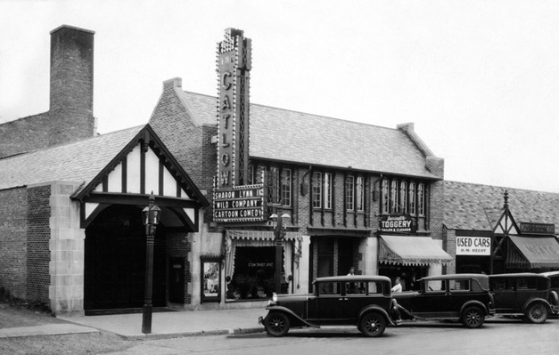Early Days of Barrington's Catlow Theater