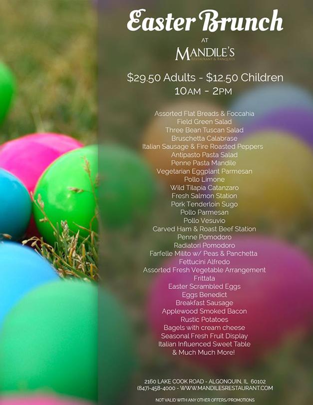 Post - Mandiles - Easter Brunch