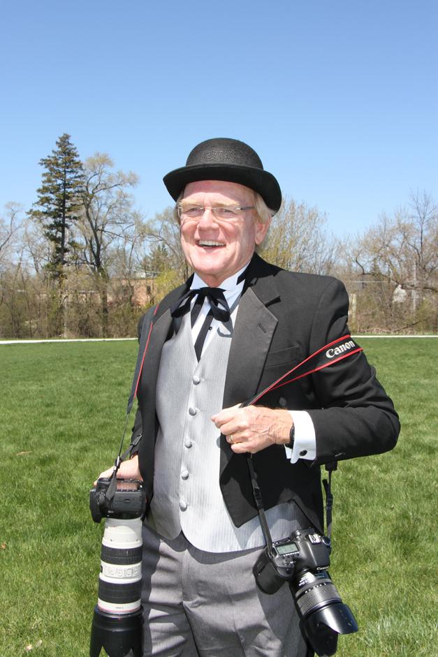 A Dapper Bob Lee Dressed in his Best Vintage Duds