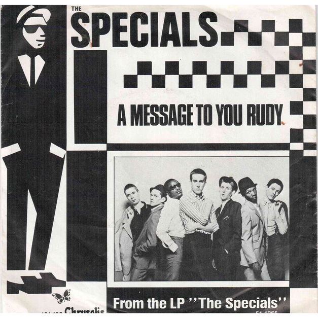 Post The Specials - Rudy, A Message to You