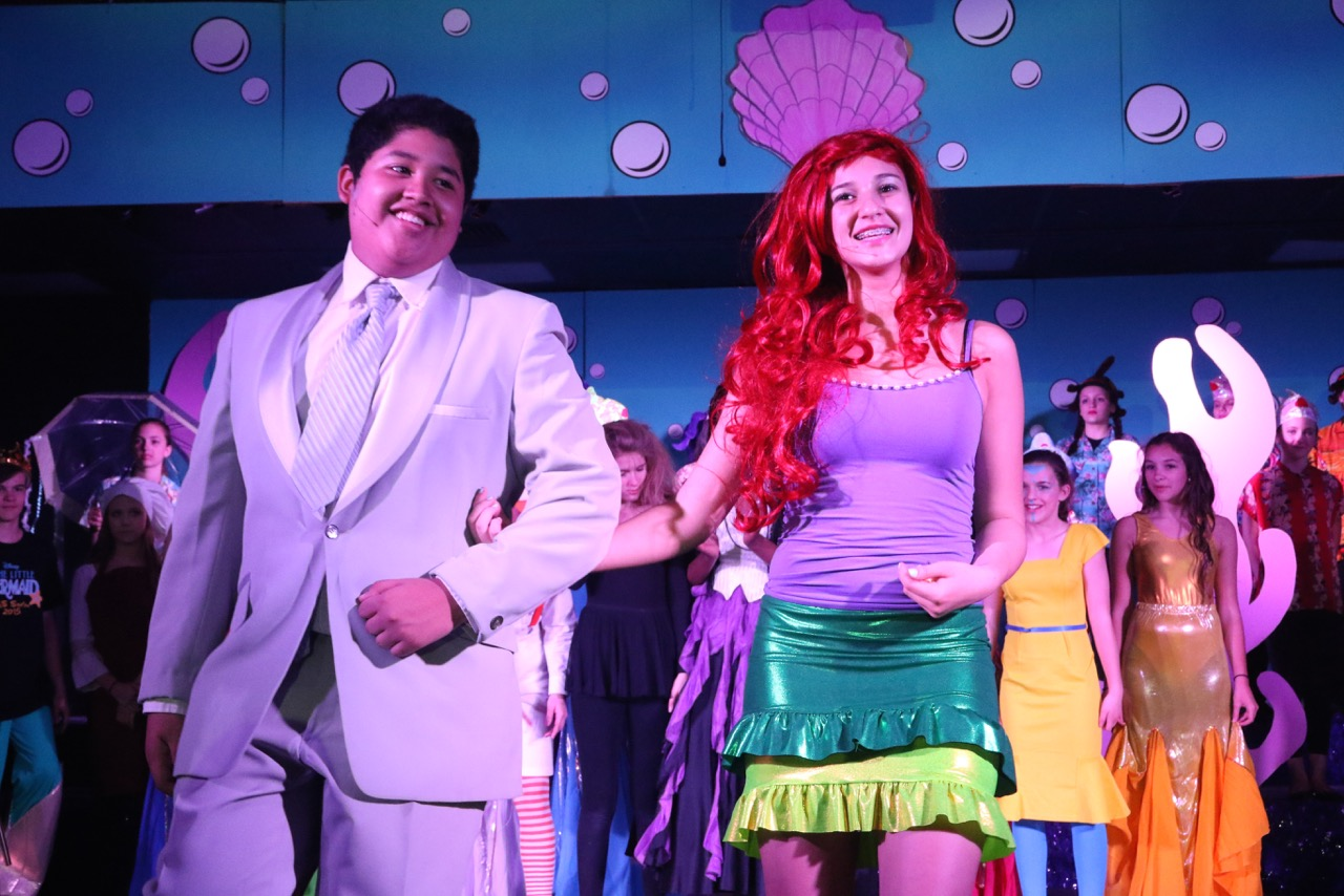 The Little Mermaid at Barrington Middle School Station Campus - 24